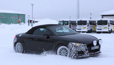 Audi TT Roadster 2019, prime immagini e test su strada