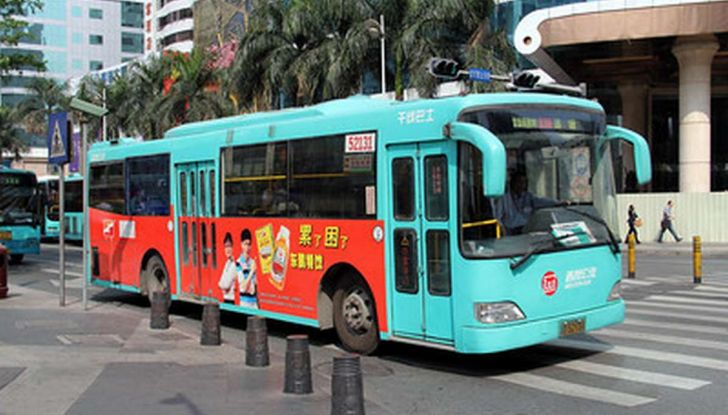 Autobus elettrici, in Cina la conversione è già realtà - Foto 2 di 9