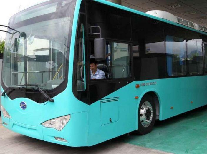 Autobus elettrici, in Cina la conversione è già realtà - Foto 4 di 9