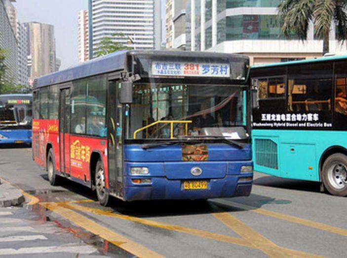 Autobus elettrici, in Cina la conversione è già realtà - Foto 7 di 9