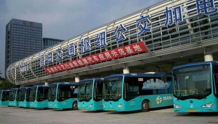 Autobus elettrici, in Cina la conversione è già realtà - Foto 5 di 9