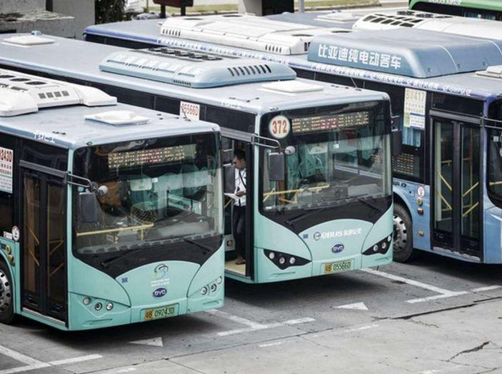 Autobus elettrici, in Cina la conversione è già realtà - Foto 1 di 9