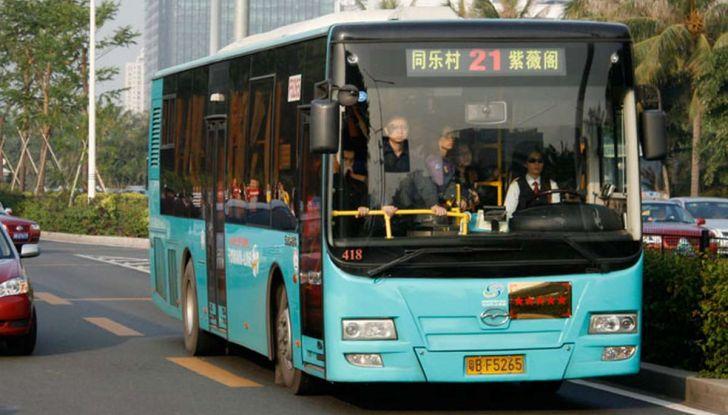 Autobus elettrici, in Cina la conversione è già realtà - Foto 9 di 9