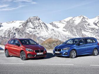 Nuove BMW Serie 2 Active Tourer e Gran Tourer 2018