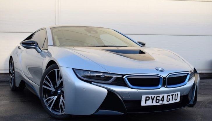 La BMW i8 di Wayne Rooney è in vendita a 70 mila euro - Foto 4 di 12