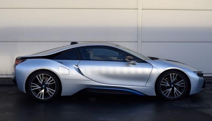 La BMW i8 di Wayne Rooney è in vendita a 70 mila euro - Foto 5 di 12