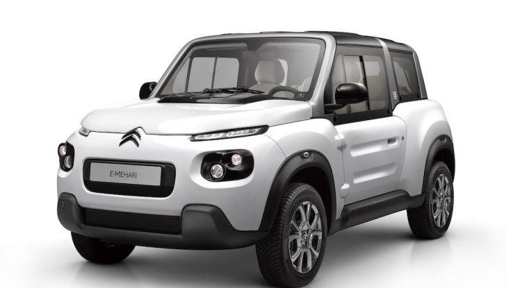 Citroën E-Mehari 2018, hardtop e nuovi interni per l'icona del Double Chevron - Foto 30 di 35