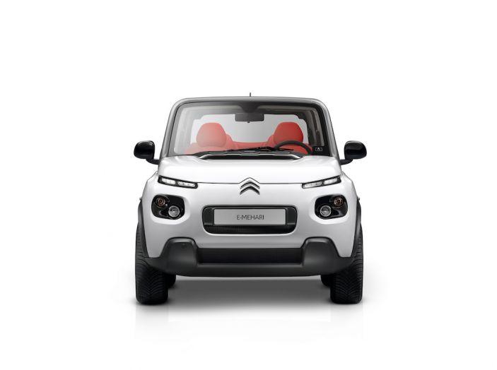 Citroën E-Mehari 2018, hardtop e nuovi interni per l'icona del Double Chevron - Foto 31 di 35