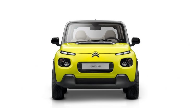 Citroën E-Mehari 2018, hardtop e nuovi interni per l'icona del Double Chevron - Foto 32 di 35