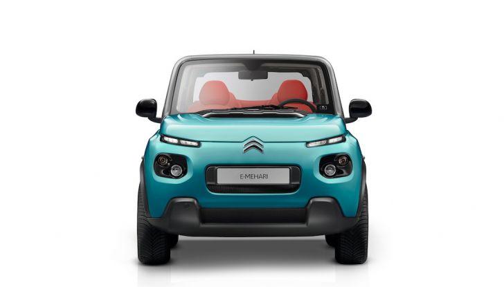 Citroën E-Mehari 2018, hardtop e nuovi interni per l'icona del Double Chevron - Foto 33 di 35
