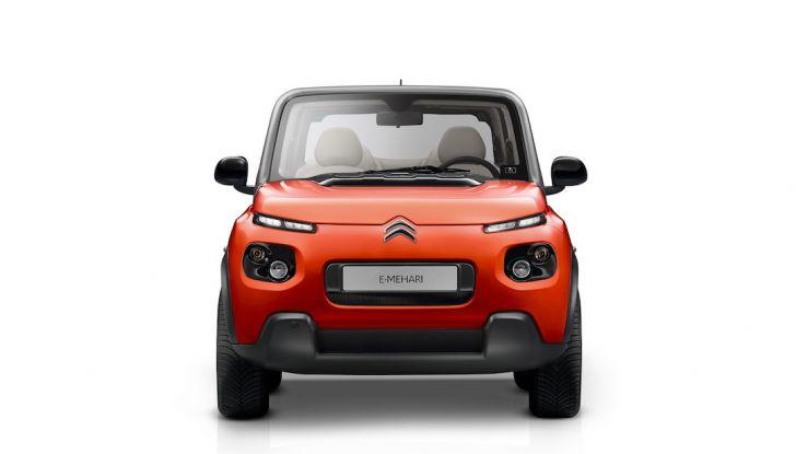 Citroën E-Mehari 2018, hardtop e nuovi interni per l'icona del Double Chevron - Foto 34 di 35