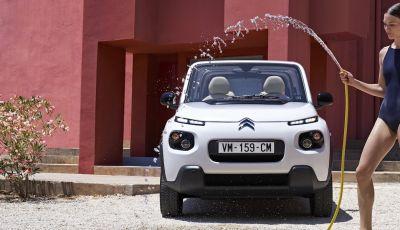 Citroën E-Mehari 2018, hardtop e nuovi interni per l'icona del Double Chevron