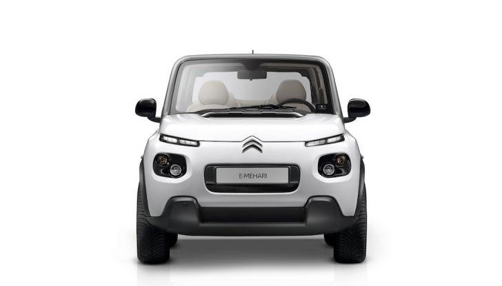 Citroën E-Mehari 2018, hardtop e nuovi interni per l'icona del Double Chevron - Foto 23 di 35
