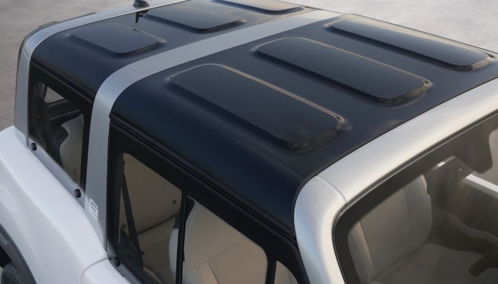 Citroën E-Mehari 2018, hardtop e nuovi interni per l'icona del Double Chevron - Foto 3 di 35