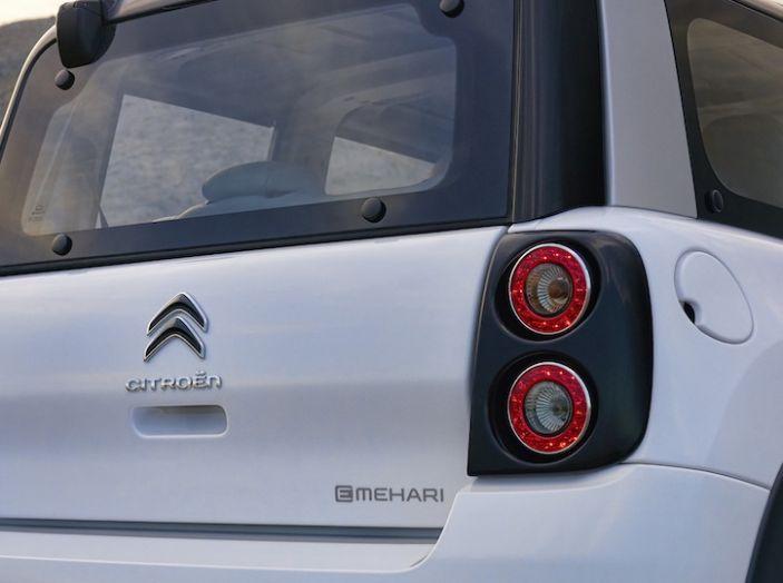 Citroën E-Mehari 2018, hardtop e nuovi interni per l'icona del Double Chevron - Foto 16 di 35