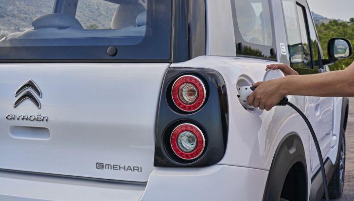 Citroën E-Mehari 2018, hardtop e nuovi interni per l'icona del Double Chevron - Foto 21 di 35
