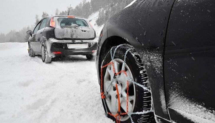 Come capire se un'auto è catenabile - Foto 1 di 5