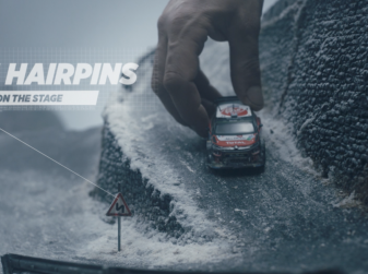 « Little Big Racing »: un'idea creativa di Citroën con un modellino della C3 WRC.