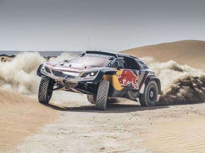 Peugeot 3008 DKR Maxi obiettivo vittoria