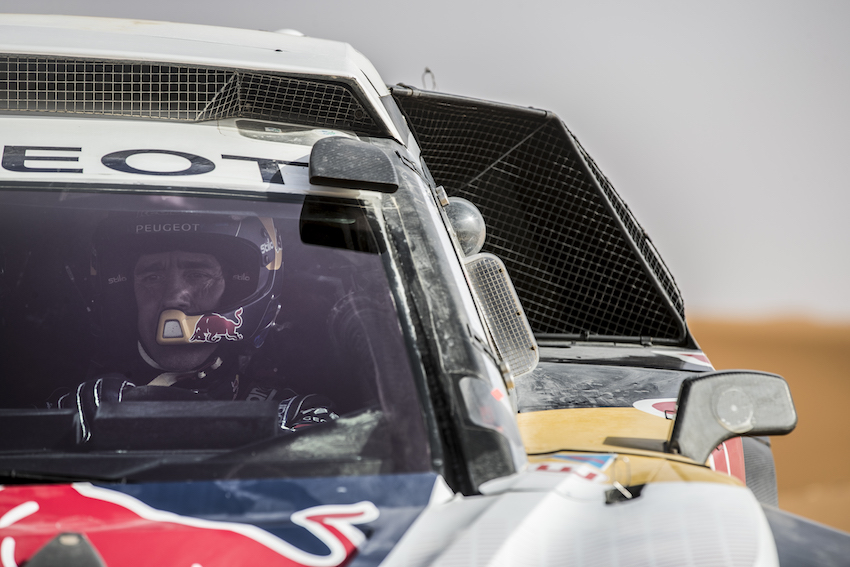 Dakar: la Peugeot punta alla vittoria