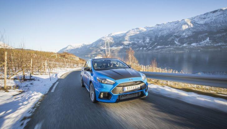 La Ford Focus RS da 350CV diventa un Taxi in Norvegia - Foto 2 di 13