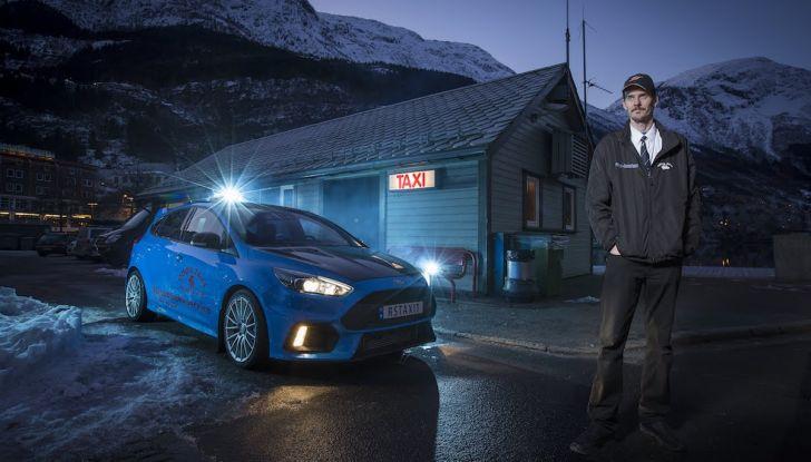 La Ford Focus RS da 350CV diventa un Taxi in Norvegia - Foto 1 di 13