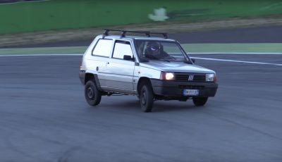 [Video] - la Fiat Panda anni Novanta protagonista a Monza