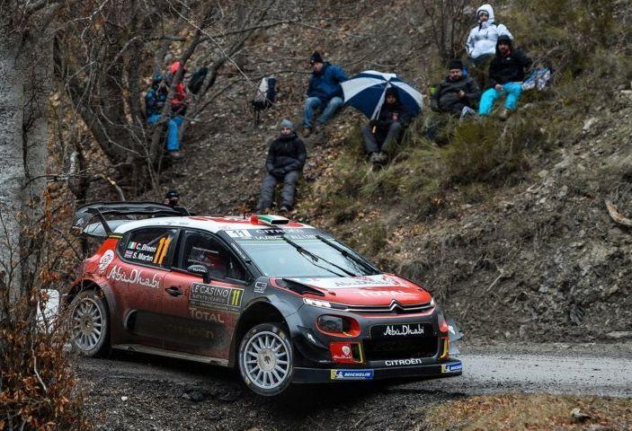 WRC Monte Carlo – Giorno 2: vicende alterne per gli equipaggi Citroën - Foto 1 di 1