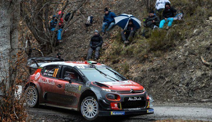 WRC Monte Carlo – Giorno 2: vicende alterne per gli equipaggi Citroën - Foto  di