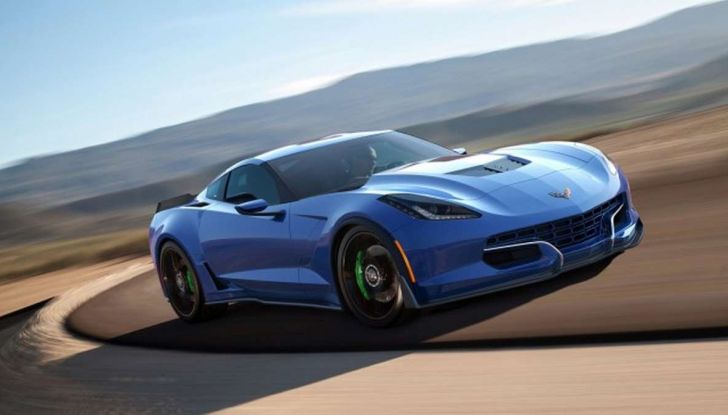Genovation GXE, la Corvette elettrica - Foto 1 di 6