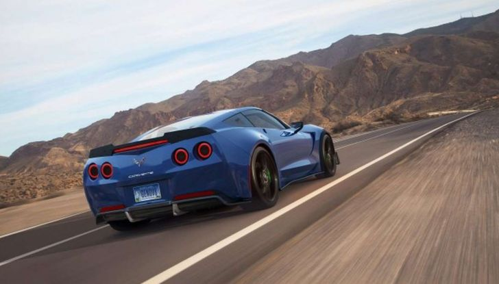 Genovation GXE, la Corvette elettrica - Foto 2 di 6