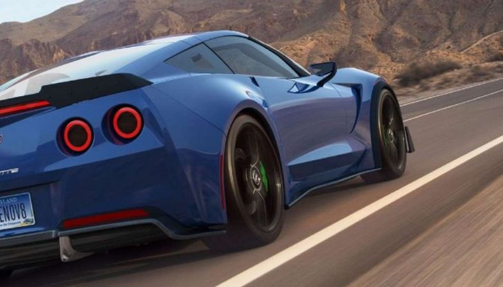 Genovation GXE, la Corvette elettrica - Foto 5 di 6