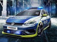 La Volkswagen Golf R della Polizia tedesca da 400 CV