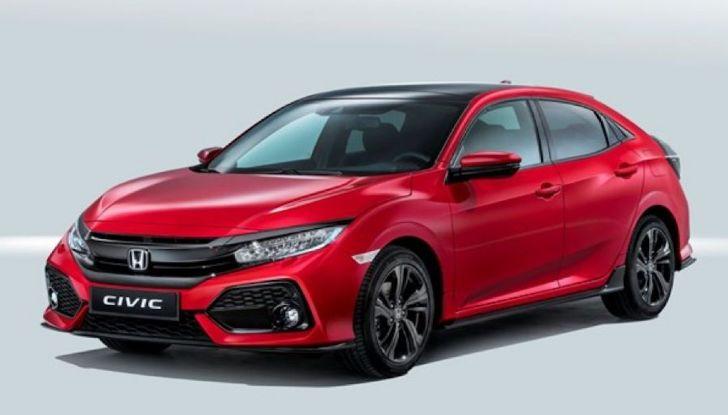 Nuova Honda Civic 2018 con motore Diesel i-DTEC - Foto 16 di 19