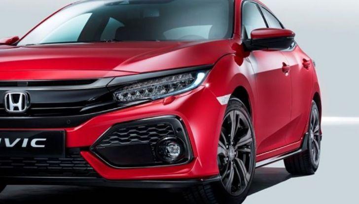 Nuova Honda Civic 2018 con motore Diesel i-DTEC - Foto 17 di 19