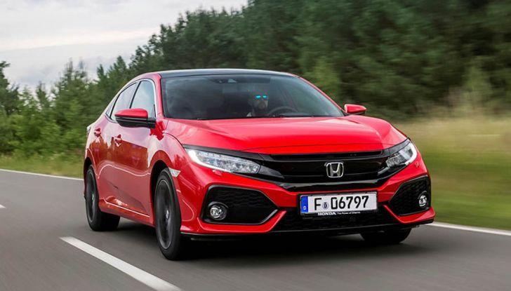 Nuova Honda Civic 2018 con motore Diesel i-DTEC - Foto 1 di 19
