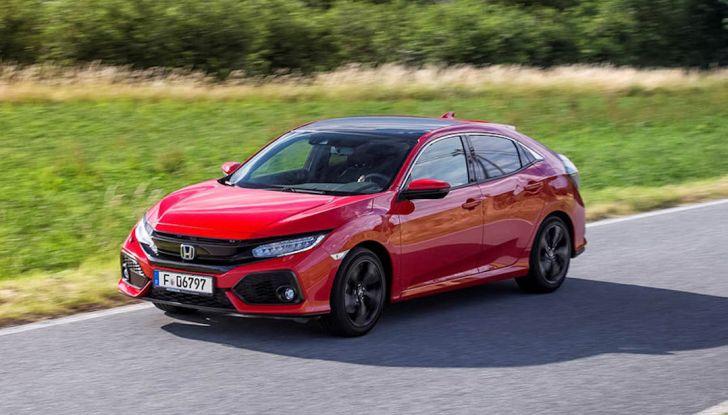 Nuova Honda Civic 2018 con motore Diesel i-DTEC - Foto 4 di 19
