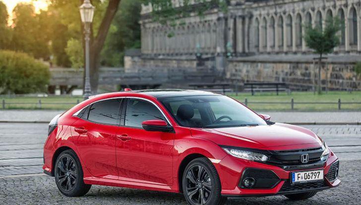 Nuova Honda Civic 2018 con motore Diesel i-DTEC - Foto 2 di 19