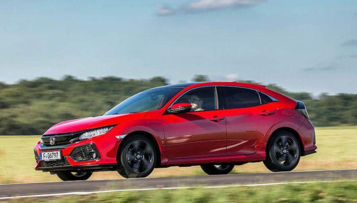 Nuova Honda Civic 2018 con motore Diesel i-DTEC - Foto 3 di 19