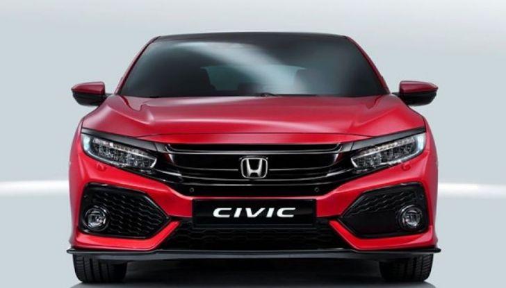 Nuova Honda Civic 2018 con motore Diesel i-DTEC - Foto 13 di 19