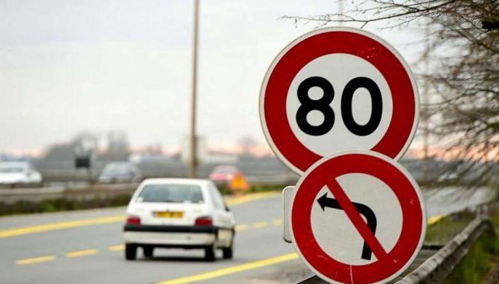 Il limite di velocità in Francia scende a 80 Km/h - Foto 1 di 8