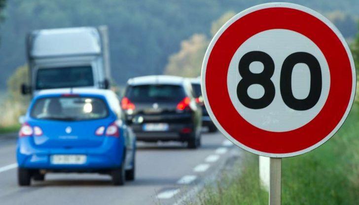 Il limite di velocità in Francia scende a 80 Km/h - Foto 2 di 8