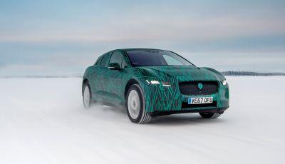 Jaguar I-PACE, test drive in Svezia del crossover elettrico