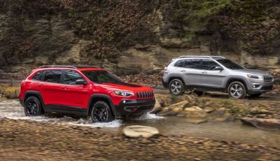 Jeep Cherokee 2018 restyling, nuovo frontale e motori