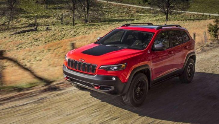 Nuova Jeep Cherokee a 299€ al mese con Freedom Days - Foto 6 di 16