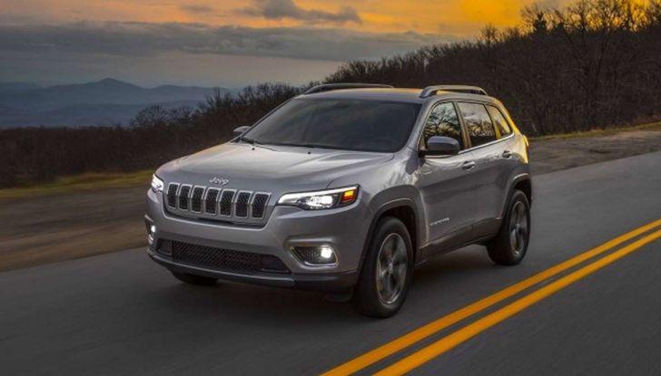 Nuova Jeep Cherokee a 299€ al mese con Freedom Days - Foto 14 di 16