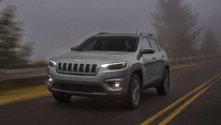 Nuova Jeep Cherokee a 299€ al mese con Freedom Days - Foto 9 di 16