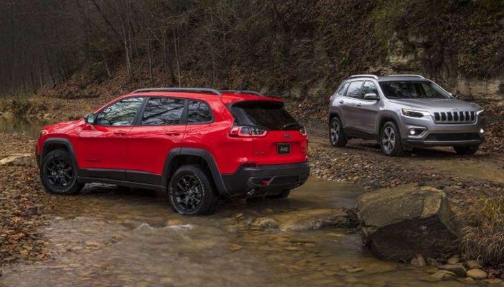 Nuova Jeep Cherokee a 299€ al mese con Freedom Days - Foto 7 di 16