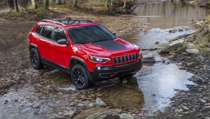 Nuova Jeep Cherokee a 299€ al mese con Freedom Days - Foto 2 di 16