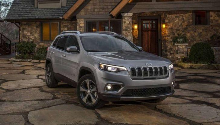 Nuova Jeep Cherokee a 299€ al mese con Freedom Days - Foto 13 di 16